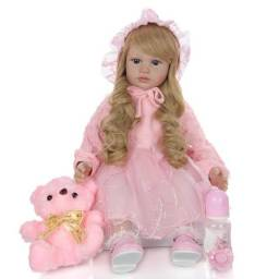 Título do anúncio: Boneca Bebê Reborn 60cm