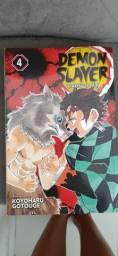 Mangá  Demon Slayer Vol. 4 (INGLÊS)