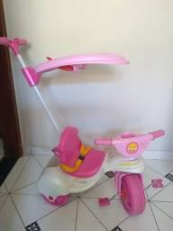 Título do anúncio: Moto triciclo infantil feminina