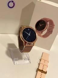 Relógio smart DT56 RoseGold lacrado