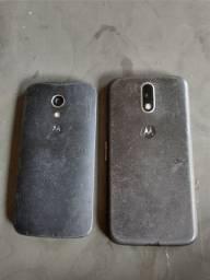 Vendo dois celular moto g2 e moto g4