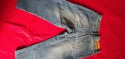 Calça jeans masculina tamanho 40