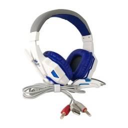 Título do anúncio: Fone gamer headset c/ adaptador celular novo valor de atacado revenda e varejo