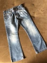 calça jeans polo wear - tam 6