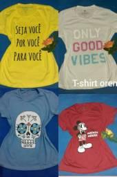 T-shirt lindas várias cores