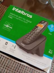 Título do anúncio: Telefone sem fio Intelbras T3110