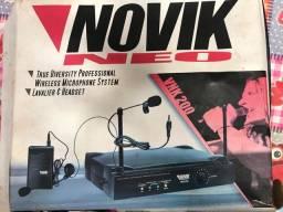 Microfone sem fio Novik Neo VNK 200