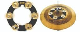 Pandeirola De Chimbal Torelli Ring Hat Fixar No Chimbal