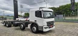 Mb Atego 3030 Bitruck 8x2 4º Eixo Completo Leito 2017 Selectrucks