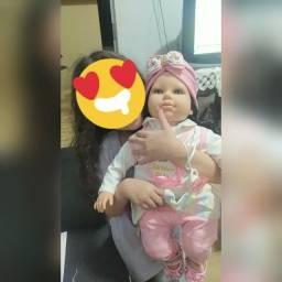 Título do anúncio: Bebê Reborn Realista