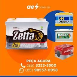 Título do anúncio: Bateria zetta, bateria ônibus scania, bateria 150Ah e bateria som