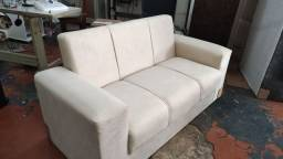 sofá conjunto promoção frete grátis