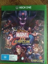 Jogo Marvel vs capcom infinity