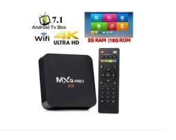 Tv Box 4K Hd Mxq Pro