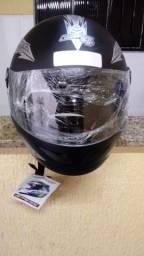Vendo capacete n°58 protork liberty fechado, novo