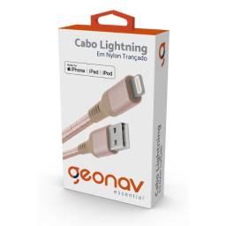 Cabo iPhone, iPad, iPod Lightning (recarga, dados) Original Geonav