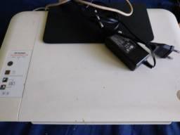 Título do anúncio:  HP impressora cor branca