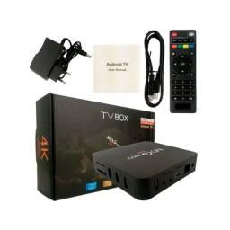 Tv box de 128 GB / Transforme a sua tv em uma Smart TV