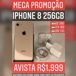 iPhone 8 256GB PROMOÇÃO!!!!