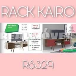 Rack kairo rack kairo rack retrô rack para TV até 60 polegadas entrego e monto
