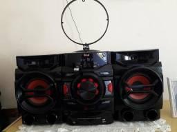 Mini hi-fi system lg vendo 100%
