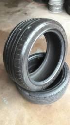 Vendo 2 pneus aro 18 semi novos