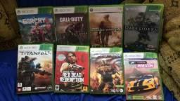 Jogos de Xbox 360 pouco uso