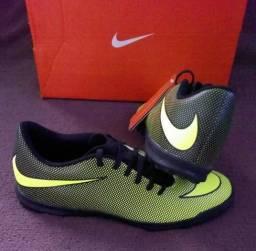 Chuteira Nike Bravata 2 TF Tam 41 (original nova sem uso) 3ad95fb8c6497