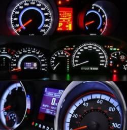 Lâmpada Led T5 B8.5 mosquito usado em painel de carro cor Branco, Verde, Vermelho ou azul