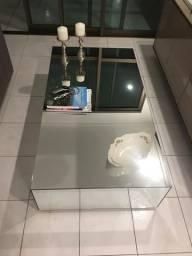 Mesa de centro espelhada 0,70 x 1,40