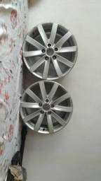 Vendo 2 rodas do jetta 2012 aro-17