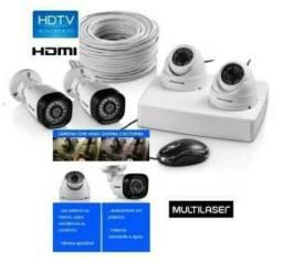 Kit Câmeras de segurança CFTV