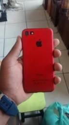 Troco iPhone 7 black 32gigas sem biometria