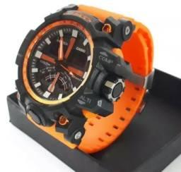Relógio G Shock Na Caixa Analógico E Digital Diversas Cores - Produto Novo