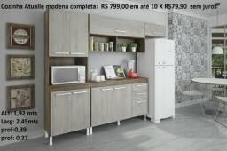 Armario de parede moderna completa