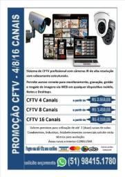 Sistemas de CFTV profissionais
