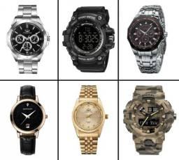 Relógios Masculinos e Femininos Ótimos Preços!