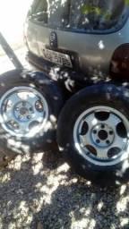 Vendo rodas de magnésio camionete pneus 15