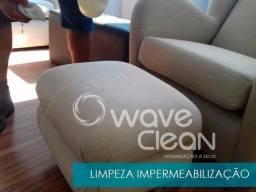 Impermeabilização de estofados limpeza a seco - sem taxa de deslocamento