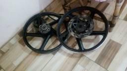 Rodas da dafra so monta e roda