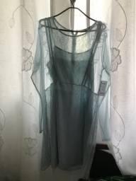 Vestido de renda forrado / Moda evangélica