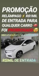 Recuse IMITAÇÕES!! R$1MIL DE ENTRADA(HONDA CITY LX AUT 2015)
