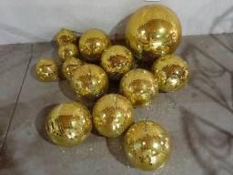 Globos dourados