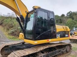 Escavadeira cat 320 DL ano 2012