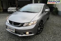 Honda/Civic 2.0 LXR 15/16 cinza automático!! - 2016