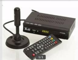 Conversor digital para tvs completo com antena tel 3682-3285