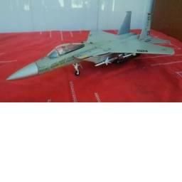 Miniatura Avião Asas de Guerra F15 C Eagle