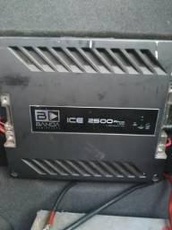 Amplificador Banda Ice 2500 2500w Rms comprar usado  Limeira