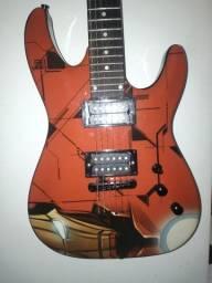 Guitarra phx versão iron man