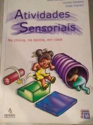 """Livro """"Atividades Sensoriais na clínica, na escola, em casa"""""""